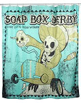 Soap Box Derby Shower Curtain
