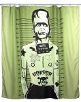 Tattooed Monster Shower Curtain