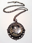 Mariachi Day of the Dead Necklace
