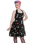 Hell Bunny Forever Dead Zombie Mini Dress