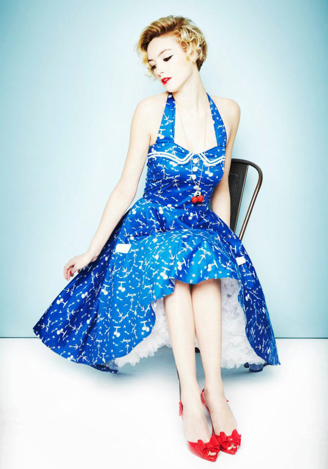 Hell Bunny Avast 50u0026#39;s Swing Dress