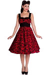 Hell Bunny Red Arcadia 50's Dress