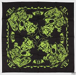 Lucky 13 Dead Burnout Bandana