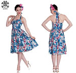 Hell Bunny Aztec 50's Dress