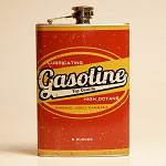 Gasoline Retro Flask