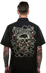 Lucky 13 Barberia Los Muertos Mens Workshirt