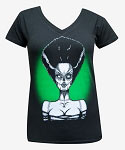 Dead Bride Ladies VNeck Tshirt