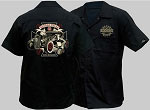 King Kerosin Hot Rod Freak Mens Workshirt