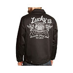 Lucky 13 Death Wish Mens Unlined Chino Jacket