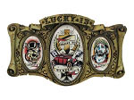 Bless The Kustoms Belt Buckle