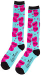 Lucky 13 Drop Dead Knee High Socks