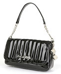 Lux de Ville Mini Gambler Tote in Shiny Black