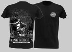 King Kerosin Old Motorcycle Shop Mens Tshirt