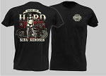 King Kerosin Ride it Hard Mens Tshirt