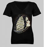 King Kerosin Sailors Grave Ladies Tshirt
