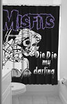 Misfits Darling Shower Curtain