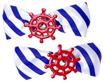 Ships Wheel Hair Bow