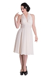 Hell Bunny Monroe Dress Cream