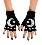 Goodnight Moon Fingerless Gloves