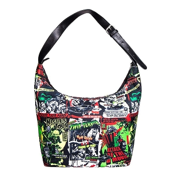 Hell Bunny B-Movie Horror Boho Bag