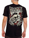 Lucky 13 Whiskey and Tears Mens Tshirt