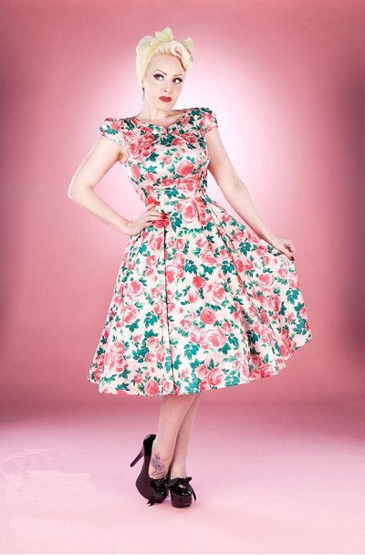 The Pink Rose Sandra Dress