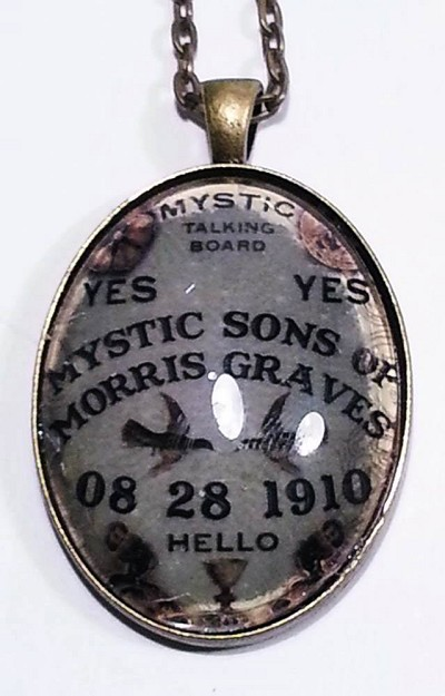 Mystic Spirit Board Bronze Necklace