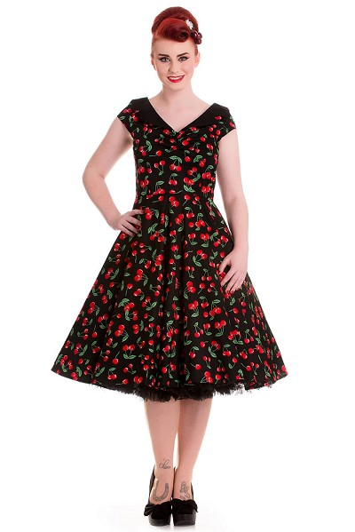 Hell Bunny Sweet Cherry Dress