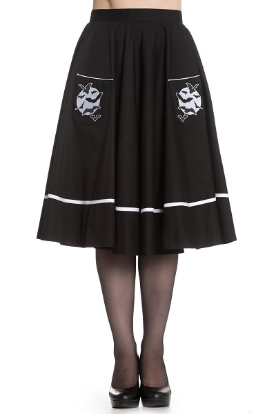 Hell Bunny Full Moon Skirt