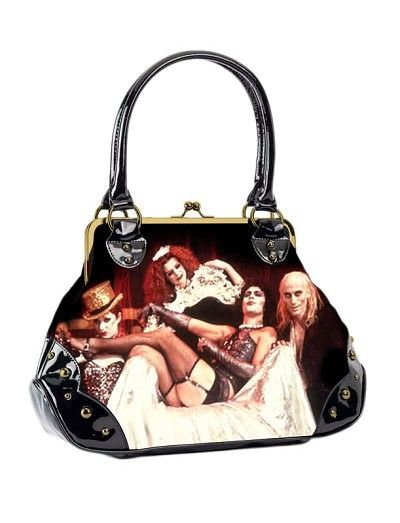 Rocky Horror Picture Show Cast Kisslock Handbag