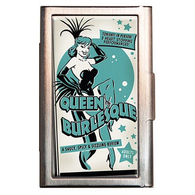 Queen of Burlesque I.D. Case