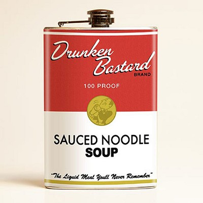 Drunken Bastard Soup Flask