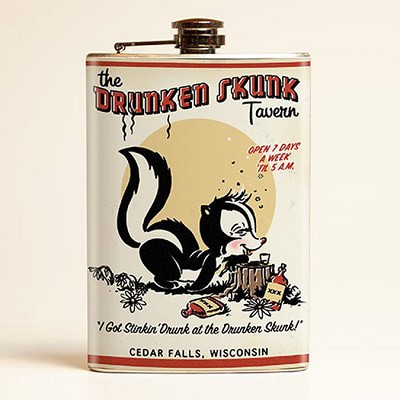 Drunken Skunk Flask