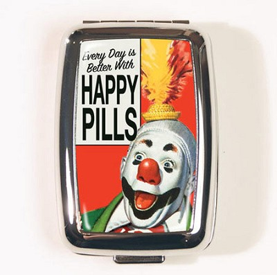 Happy Pills Pill Box