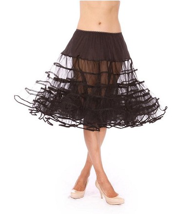 Midnight Black Petticoat