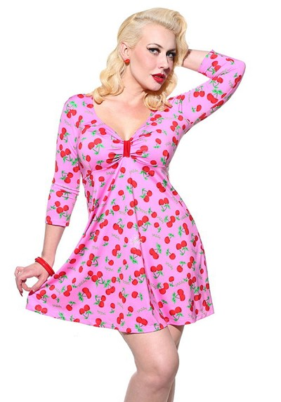 Cherry Cupcake Pinup Swing Dress