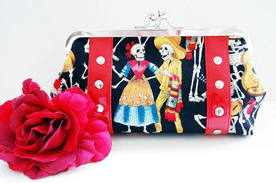 EXCLUSIVE Hold Fast Handbags Los Muertos Clutch