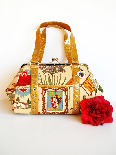 EXCLUSIVE Hold Fast Handbags Viva Frida Purse