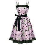 Hell Bunny Dixie 50s Dress Pink