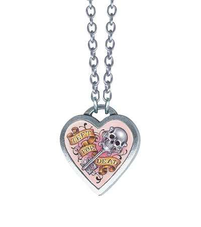 Classic Hardware Medium Left For Dead Necklace