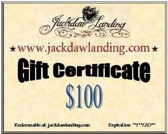 Gift Certificate -Instant Via Email