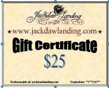 Gift Certificate - Instant Via Email