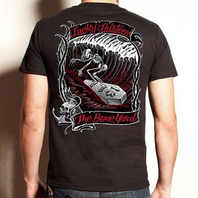 Lucky 13 Boneyard Mens Tshirt