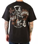 Lucky 13 Free Wheel Mens Tshirt