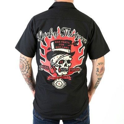 Lucky 13 Bad Parts Mens Workshirt