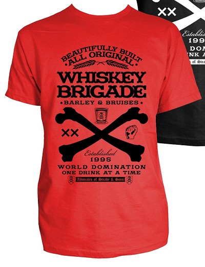 Whiskey Brigade TShirt (Red)