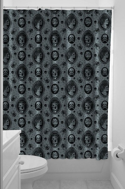 Zombie Cameo Shower Curtain