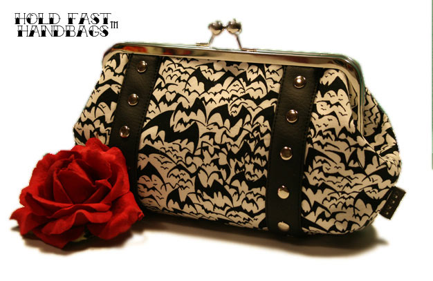 Hold Fast Handbags Batty Betty Clutch