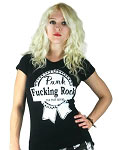 Punk F*&king Rock Babydoll Burnout Tshirt