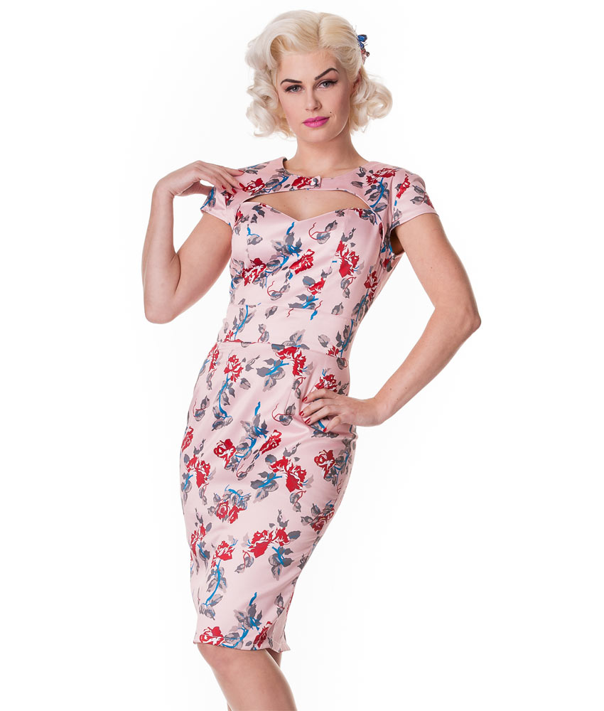 Hell Bunny Rosalie Wiggle Dress